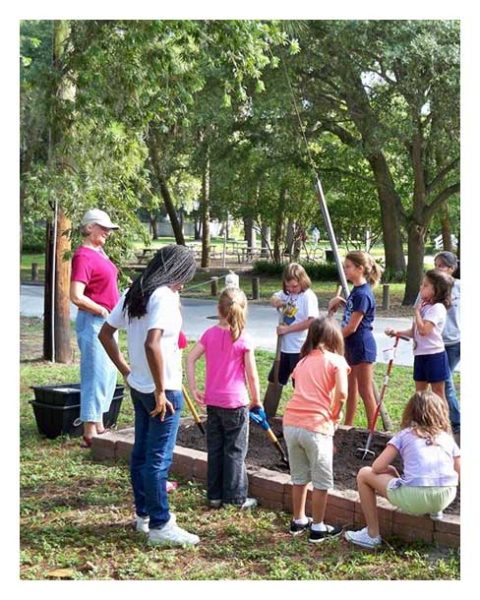 tampa garden club kids summer camp